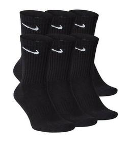 Nike Everyday 6-Pair Pack Crew Cotton Cushioned Dri-Fit Sock
