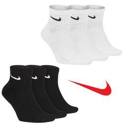 Nike Everyday Quarter Cushion Ankle Training Socks 3 Pairs P