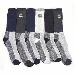 6 Pairs of Excellent Mens Merino Wool Thermal Socks ,Size 10