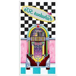 FABULOUS 50s Sock Hop GREASE Party Decoration JUKEBOX DOOR W