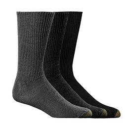 Gold Toe Men's Fluffies,Multi Pack ,US 10-13 R