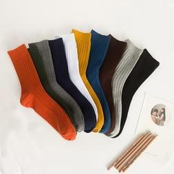 <font><b>Socks</b></font> for men cotton solid color <font><
