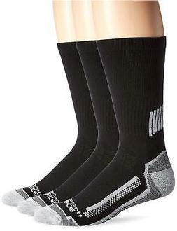 Carhartt Men's 3 Pack Force Performance Work Crew Socks,  Bl