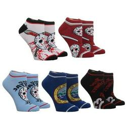 Friday the 13th 5 Pair Ankle Socks
