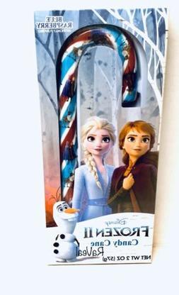 Disney Frozen II Blue Raspberry Candy Canes w/Cutout Ornamen