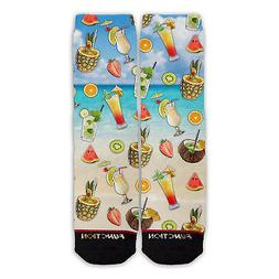 Function - Summer Cocktail Pattern Sock drink pineapple frui