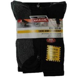 Genuine Dickies Men's Dri-Tech Comfort Crew Work Socks, 5-Pa