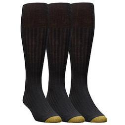 Gold Toe Men's Premium Windsor Wool Over The Calf Dress Sock