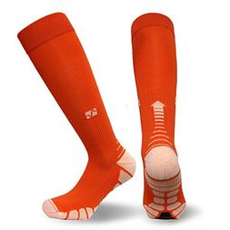 Vitalsox Italy-Patented Compression VT1211,Large,Orange