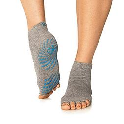 Gaiam Grippy Toeless Yoga Socks, SmallM