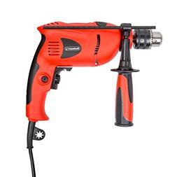 Stalwart 5.0 Amp 120V Hammer Drill, 1/2