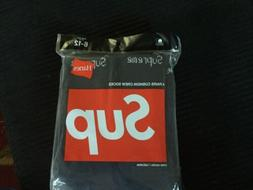 Supreme Hanes Black Socks 100% Authentic SINGLE PAIR Fits Si