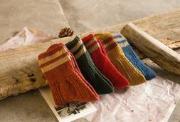 Harry Potter Cotton Women Soft Warm Socks High Ankle Hosiery