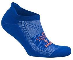 hidden comfort neon blue running socks unisex