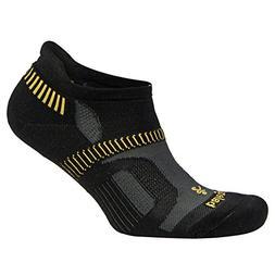 Balega Hidden Contour Socks For Men and Women , Black/Yellow