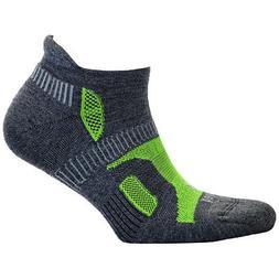 Balega Hidden Contour Structured Fit Running Socks - Charcoa