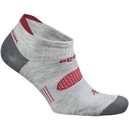 Balega Hidden Dry 2 Second Skin No Show Running Socks - Gray