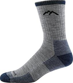 Darn Tough Hiker Micro Crew Cushion Sock - Men's Light Gray