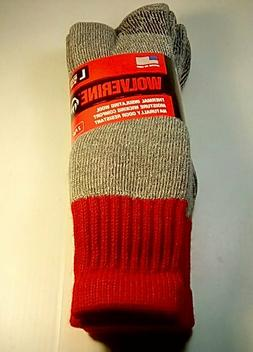 Wolverine Hunter Wool Over-the-Calf Boot Sock, XL , 2 pr $14