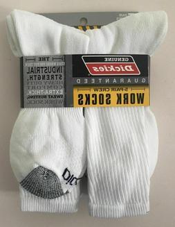 Dickies® Industrial Strength Work Crew Socks Men Shoe Size