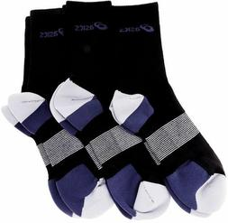 Asics Intensity Crew Cut 3 Pairs of Socks L Large Size 9.5-1