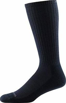 Darn Tough Standard Issue Mid-Calf Light Socks,Black,Large
