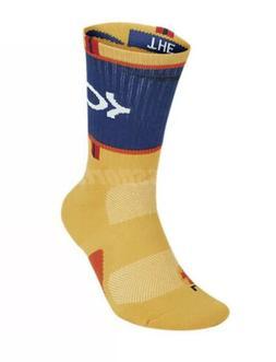 "Nike KD Elite Crew Basketball Socks ""The Journey"" SX7860-7"
