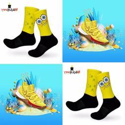 Kyrie SpongeBob Customized Socks