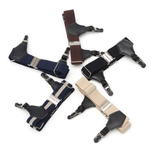 1 Pair Black Men Women Sock Garters Sock Suspender Accessori