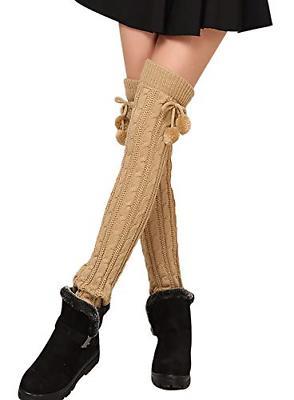 1 pairs 2 pairs women knit leg