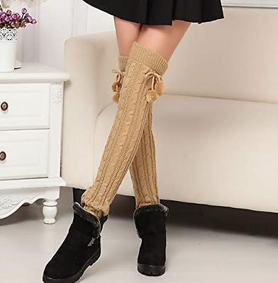 1 Pairs Women Winter Long Socks