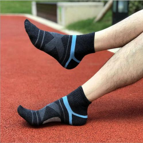 10 Pairs Ankle Sock Low Running Cycling Cotton Casual