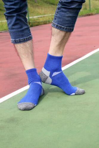 10 Mens Ankle Sock Running Cycling Crew Casual Socks