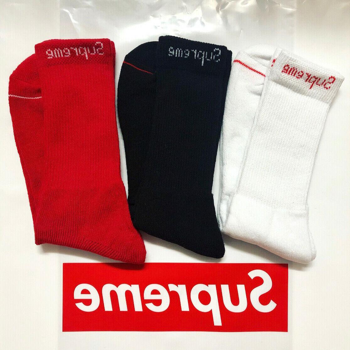 100 percent authentic x hanes crew socks