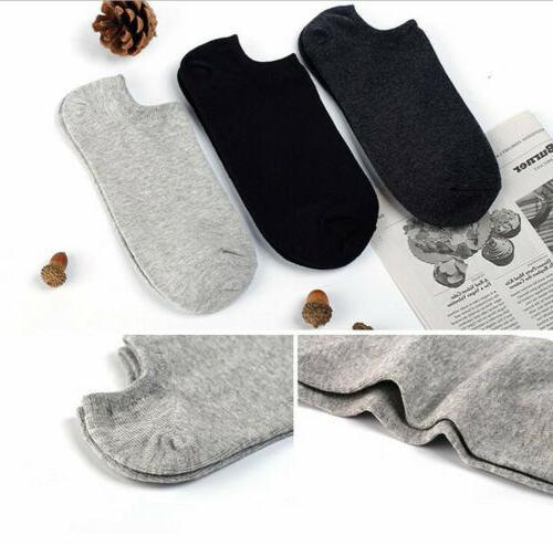 10Pair Cotton Short Casual Cut Hosiery