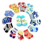 12 Pairs Anti-slip Socks Toddler Socks, Marrywindix Assorted