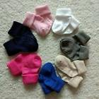 12 Pairs Muti Color Infant Baby Socks Non Skid with Grip New