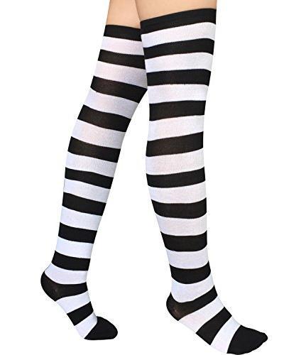 Chalier Long Knee Thigh Socks Stockings