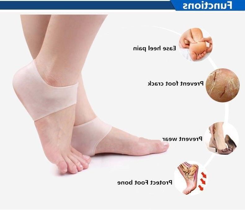Soft Silicone Gel Socks Foot Fasciitis Protector