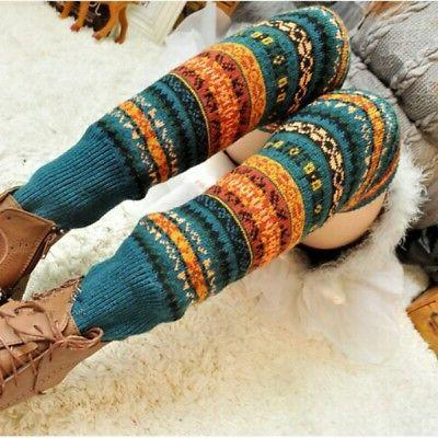 Wool Cozy Crazy Novelty Socks - Keaza Wz02 Thick Cotton Vint
