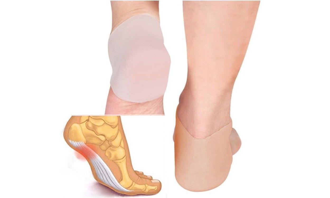 2PC Gel Heel Socks Cracked Skin Care