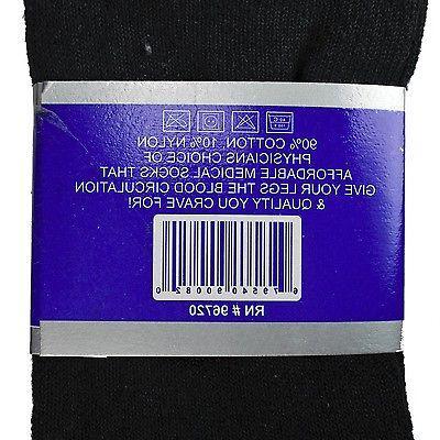 3-12 Quarter Crew Socks Health Cotton Men