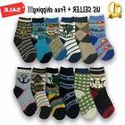 3,6,12 Pairs Yanoir Boys Ankle Cut Socks Crew Cotton Athleti