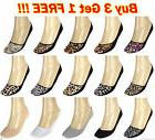 3, 6, 12 Pairs Womens Cotton Liner Socks No Show Peds Low Cu
