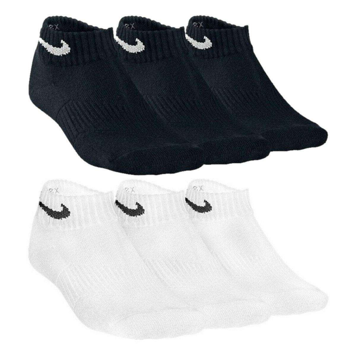 3 pack performance cotton youth low cut