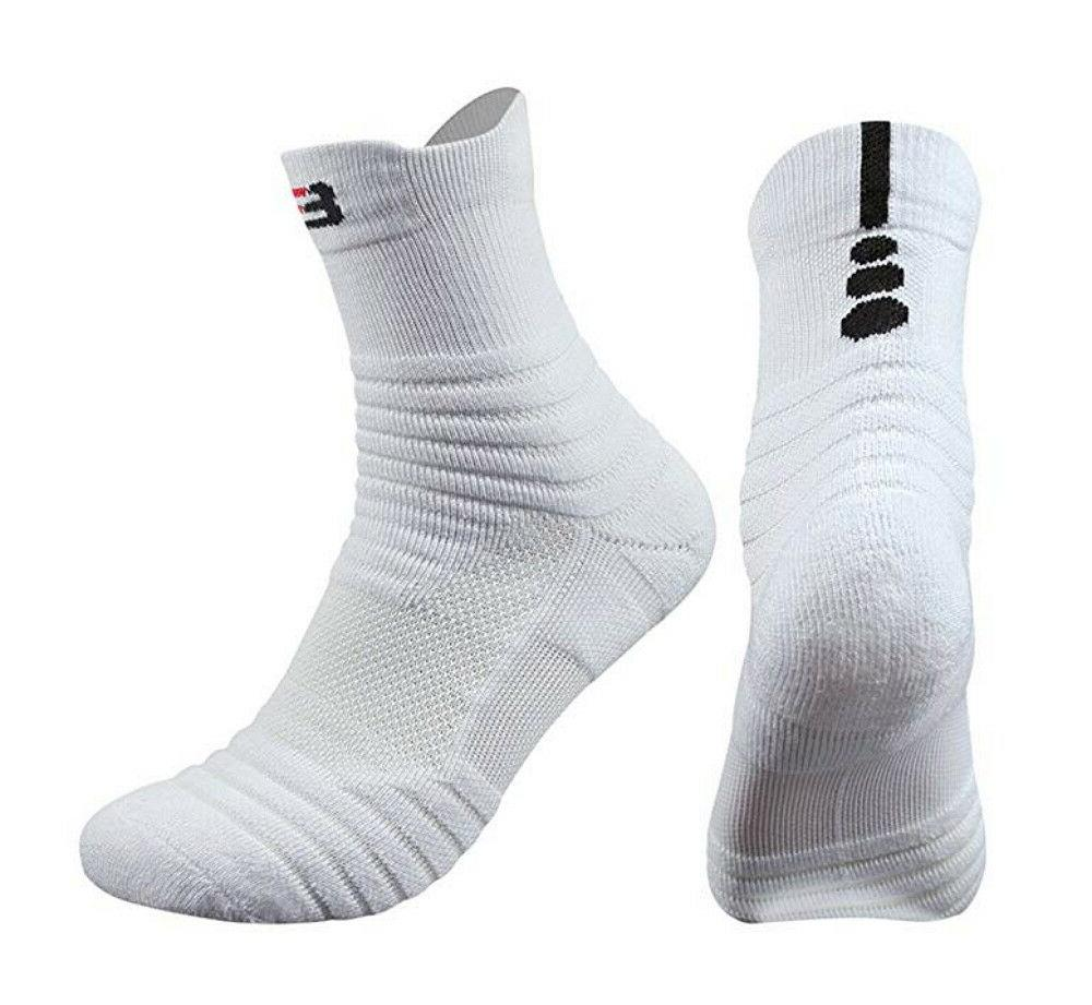 3 Packs Men's Sports Compression Mid-Crew
