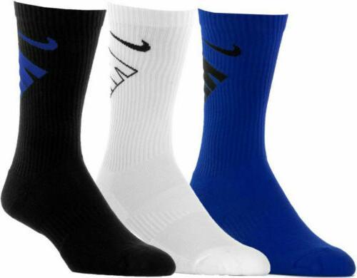 3 Nike School Black Grey Swoosh