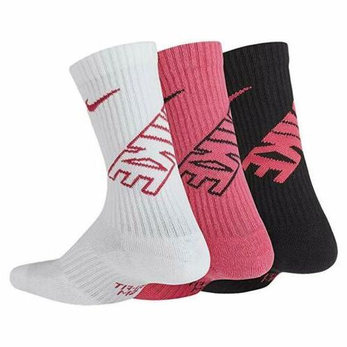 Nike Kids Cotton School Socks Grey