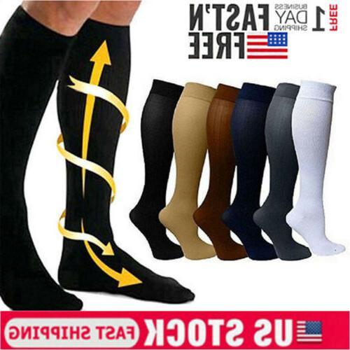 Compression Socks Support Stockings Mens Womens Plantar Gra