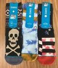 3 Pairs Of Stance TOXIC/BLAKE/BARS SOCKS For Boys 2-5.5
